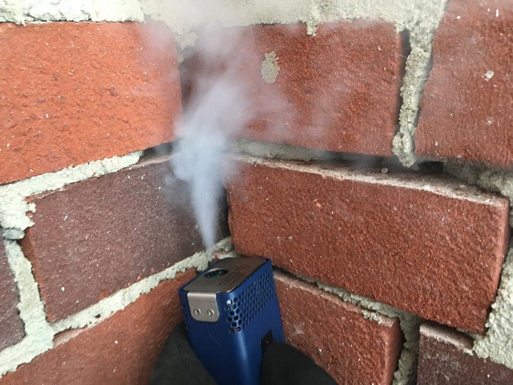 Rooktest bij een nieuwbouw woning in Nietap.
