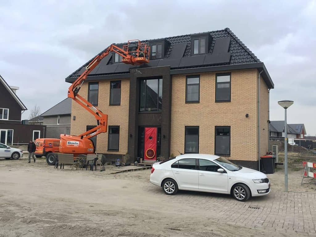 Blowerdoortest bij bouwgebreken in Almere.