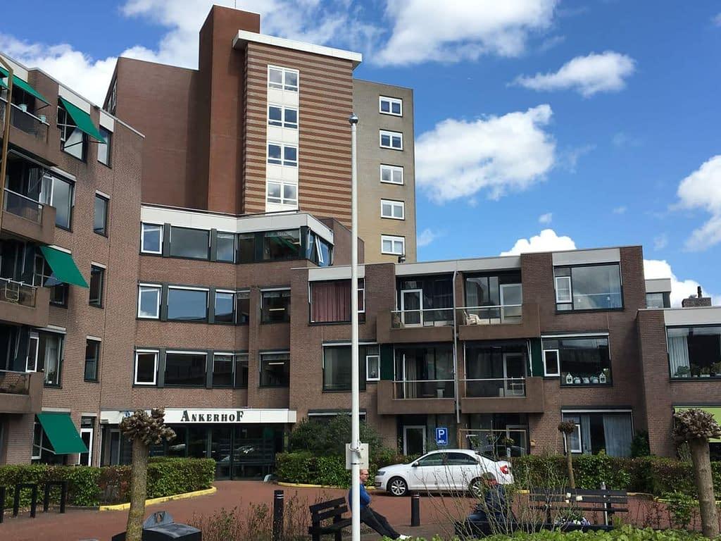 Blowerdoortest bij woonzorgcentrum Ankerhof in Assen.