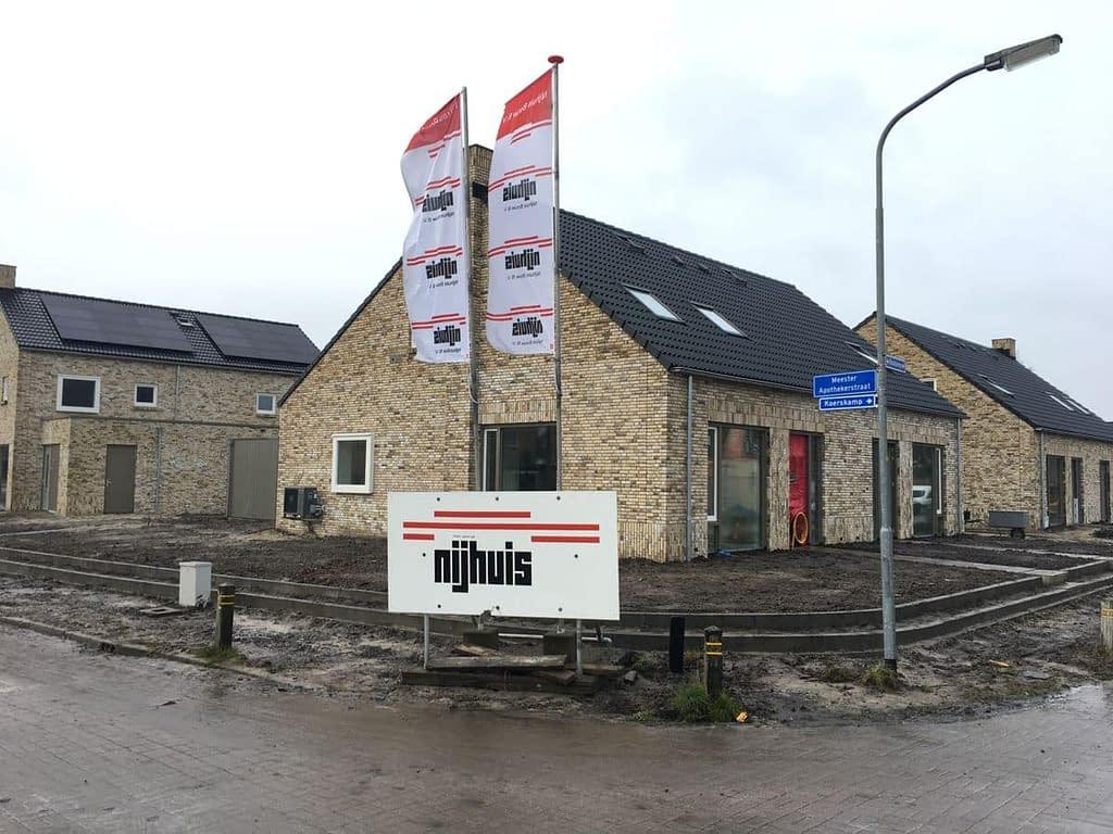 Blowerdoortest bij Plan Boskamp in Roden.
